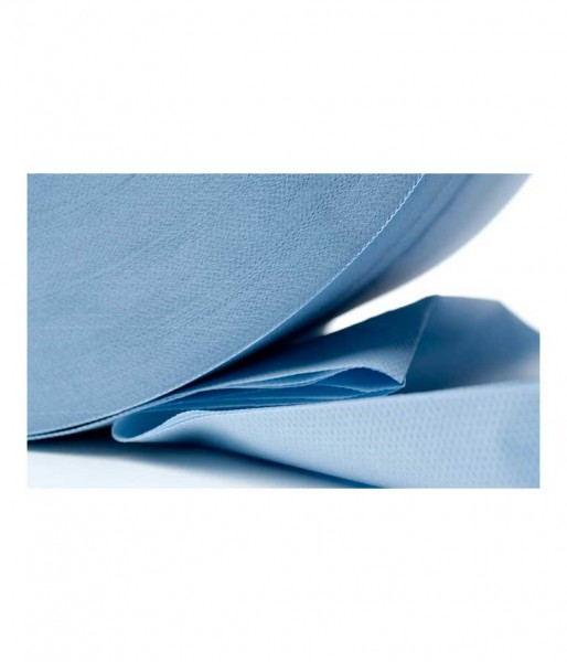 Putzrolle Fripa 3-lagig blau 1000 Abriss
