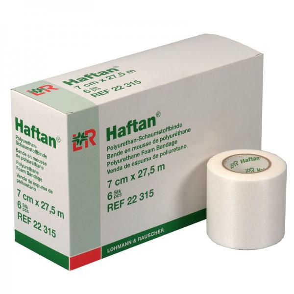 Haftan - extrem dünne Binde aus PU-Schaumstoff