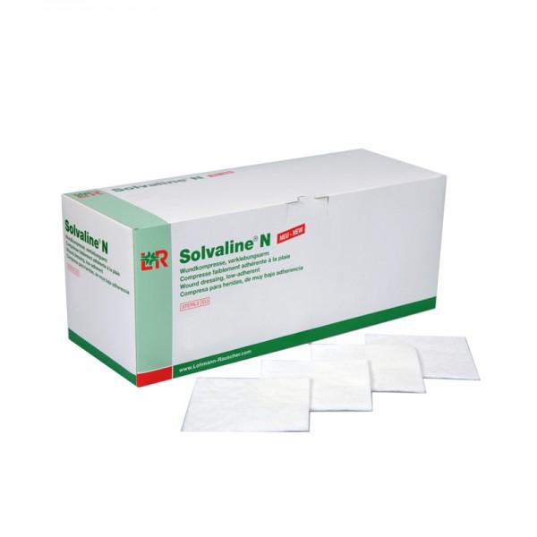Wundkompresse L&R Solvaline N verklebungsarm unsteril