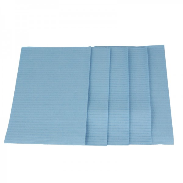 Patientenservietten Euronda Monoart Towel Up hellblau