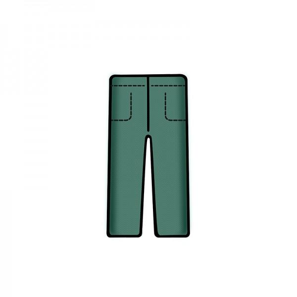 Bereichskleidung L&R Sentinex Hose Soft Grün