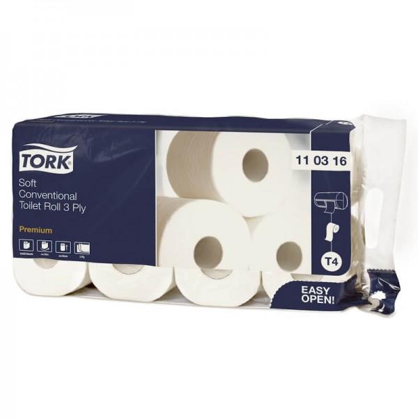 Toilettenpapier Tork Premium 3-lagig T4