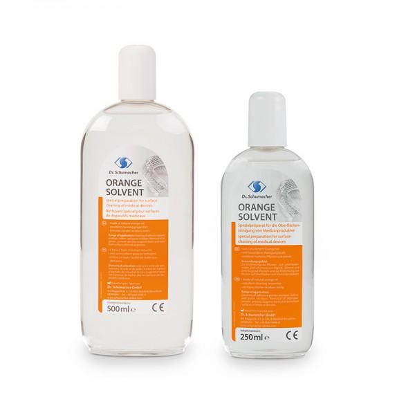 Spezialreiniger Dr. Schumacher Orange Solvent Instumente Flächen