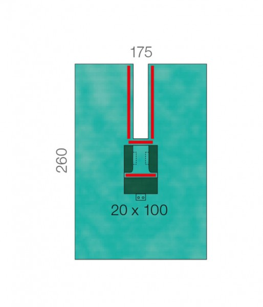 OP-Abdecktücher L&R Raucodrape PRO Schlitztücher beidseitig 2-lagig Plus mit Schlauchfixierung steri