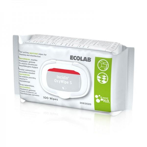 Desinfektionstücher Ecolab Incidin OxyWipe S