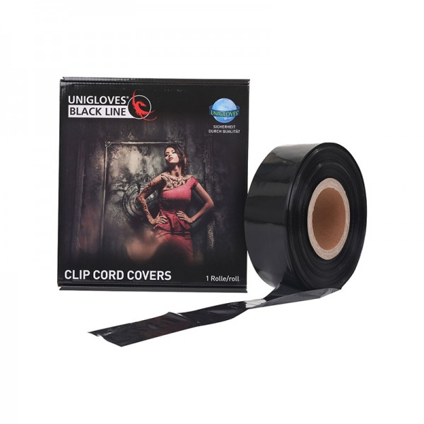 Clip Cord Covers Rolle Unigloves schwarz