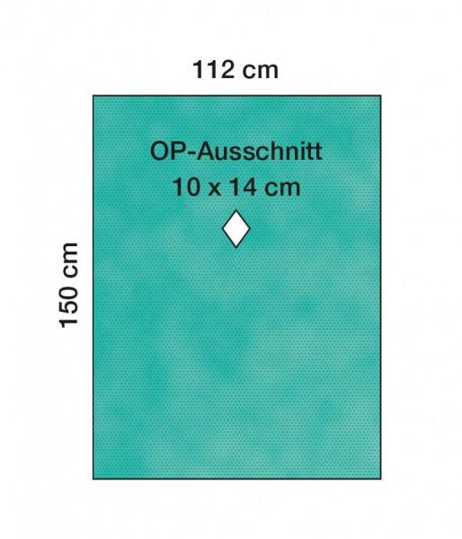 OP-Lochtücher L&R Raucodrape MKG-Tuch 112x150cm 2-lagig steril