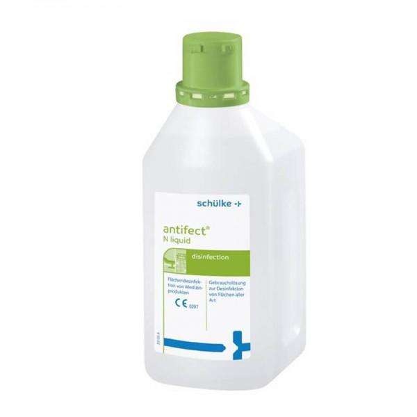 Schnelldesinfektion Schülke antifect N liquid