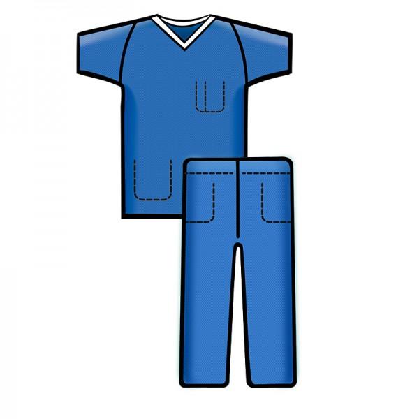 Sentinex Bereichskleidung - Set Soft - Blau