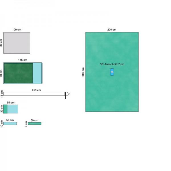 Raucodrape ® PRO Arthroskopie-Set II