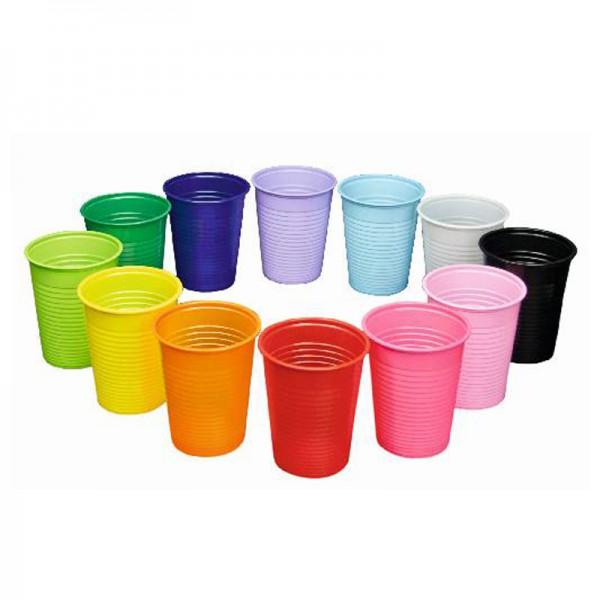Monoart ® Trink- und Mundspülbecher Colourmix