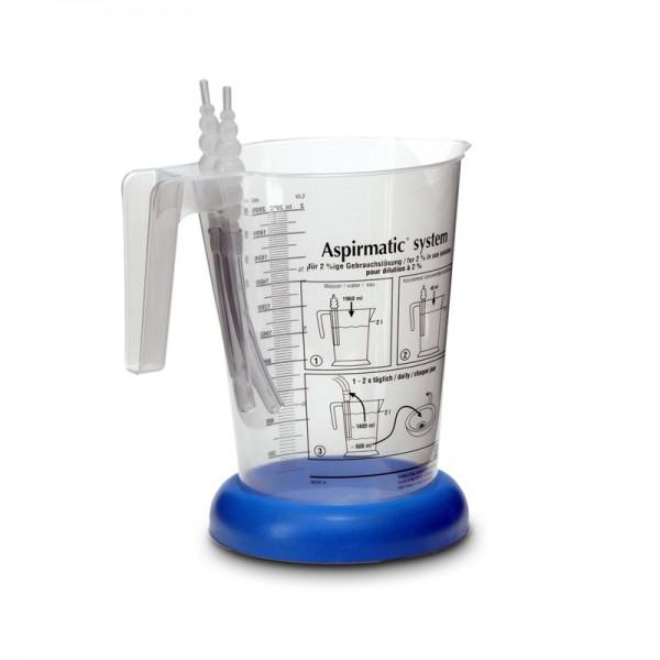aspirmatic system - Dosierbehältnis für 2 Liter Lösung