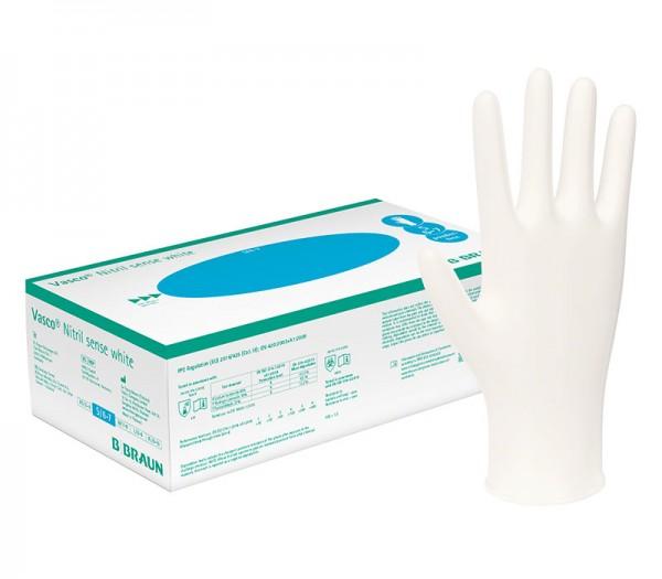 Handschuhe Nitril B. Braun Vasco Nitril Sense white