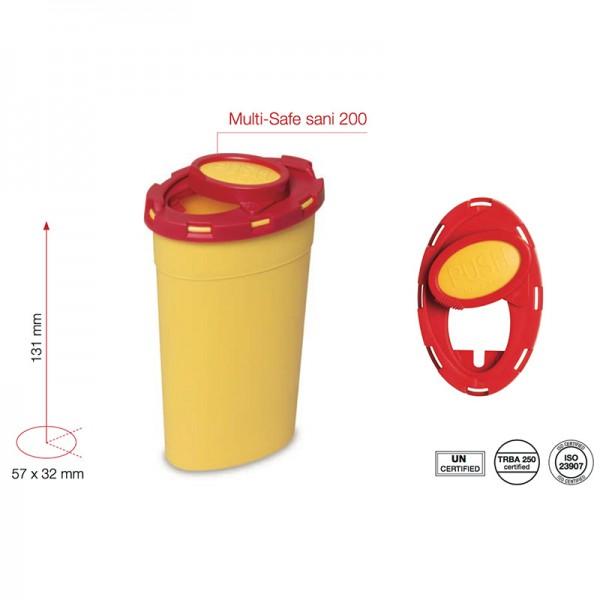 Multi-Safe sani 200 - Entsorgungsbehälter