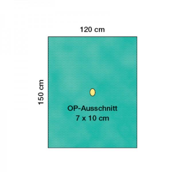 OP-Lochtücher Raucodrape PRO 2-lagig mit Inzisionsfolie steril