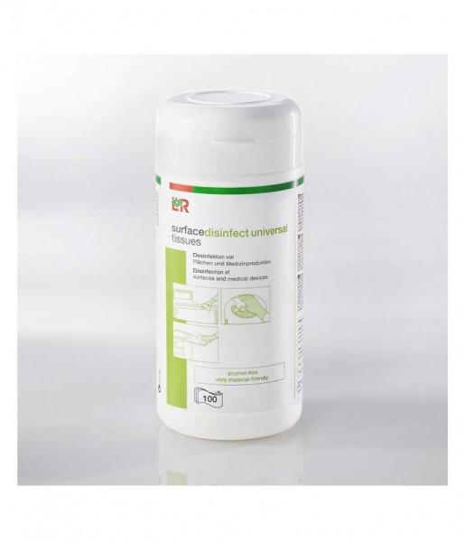 Desinfektionstücher L&R surfacedisinfect universal tissues alkoholfrei