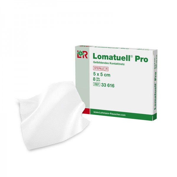 Gelbindendes Kontaktnetz L&R Lomatuell Pro steril