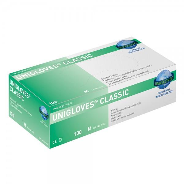Handschuhe Latex Unigloves Classic