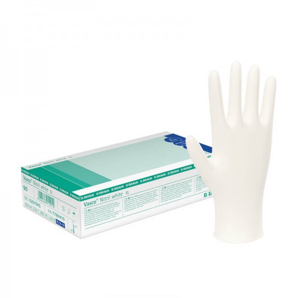 Handschuhe Nitril B. Braun Vasco Nitril white