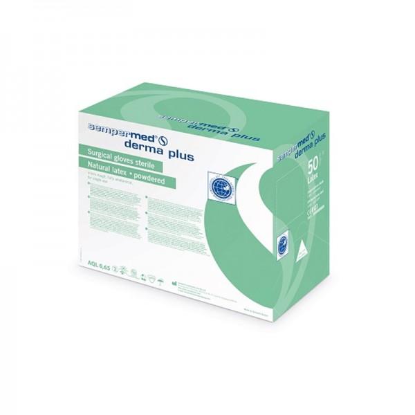 Sterile OP-Handschuhe - Sempermed derma plus - leicht gepudert-Copy