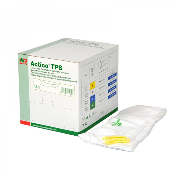Thrombose-Prophylaxe-Strumpf L&R Actico TPS knielang