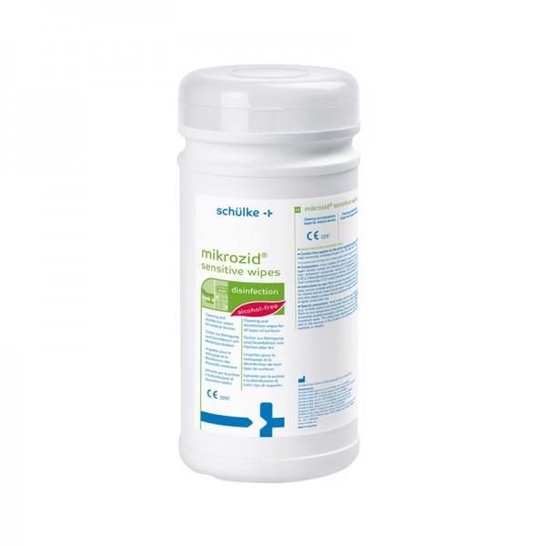 Desinfektionstücher Schülke mikrozid sensitive wipes Jumbo alkoholfrei