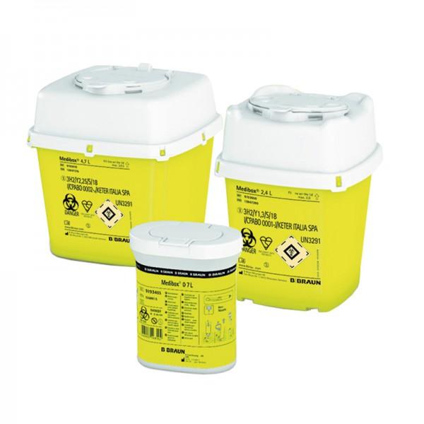 Entsorgungsbox B.Braun Medibox