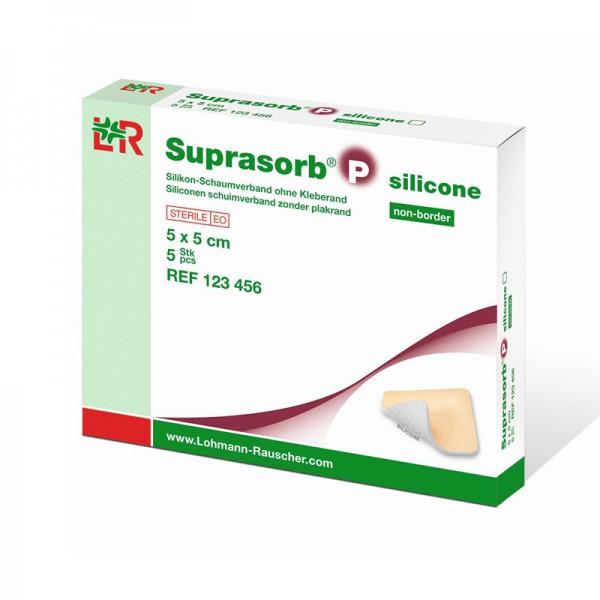 Suprasorb P silicone - PU-Schaumverband - non-border (ohne Kleberand)