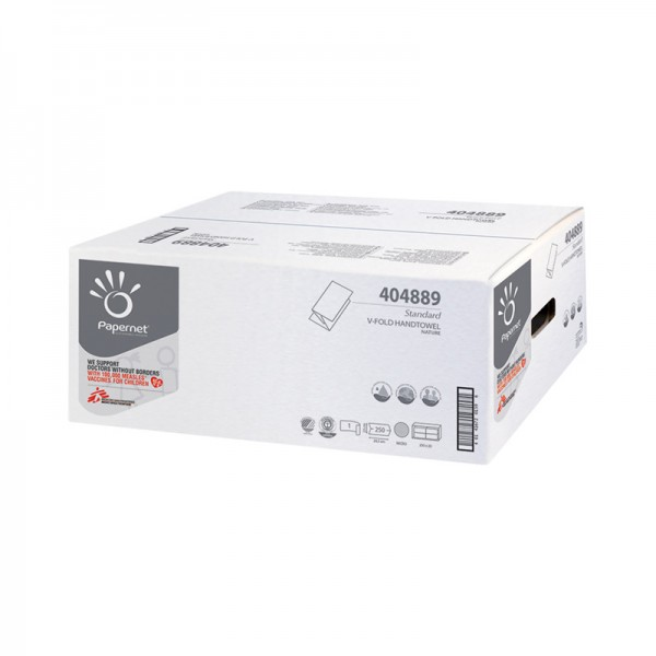Papiertücher Papernet Standard 1-lagig 24 x 23 cm
