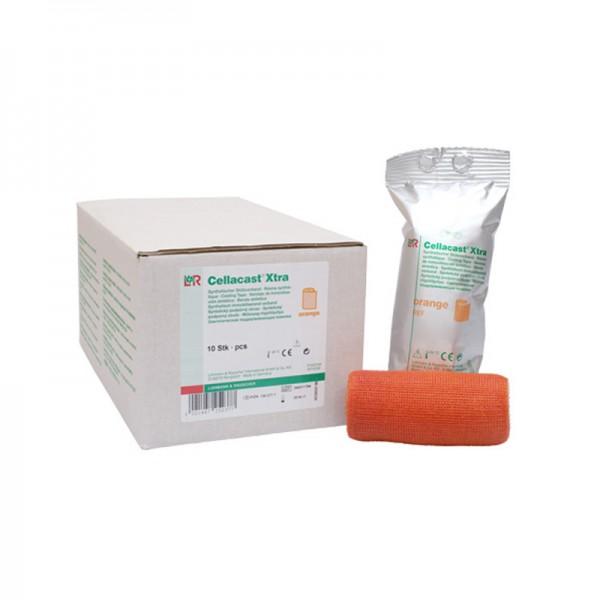 Cellacast - Xtra Binde - Orange - Stabilisierender Stützverband