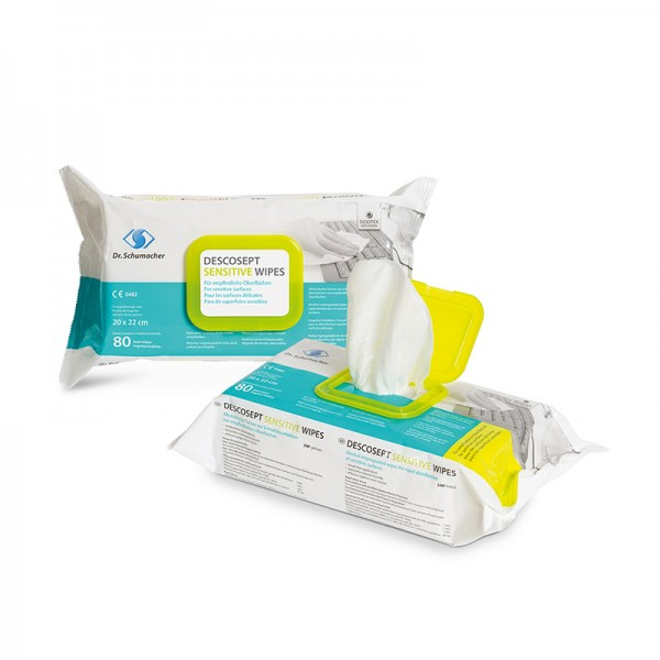 Desinfektionstücher Dr. Schumacher Descosept sensitive Wipes