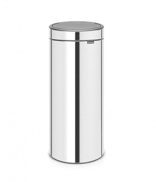 Abfallbehälter Brabantia Touch Bin Brilliant Steel silber 30l