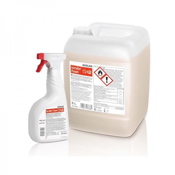 Schnelldesinfektion Ecolab Incidin Foam