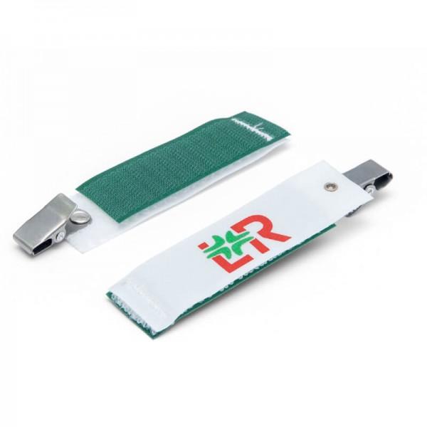 OP-Zubehör L&R Raucodrape Mehrzweckklemme mit Klettverschluss unsteril