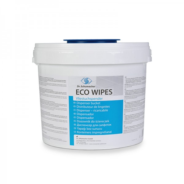 Desinfektionstücher Dr. Schumacher Eco Wipes Spendereimer 5L