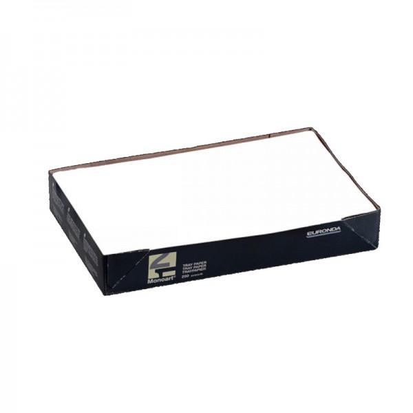 Monoart ® Traypapier für Normtrays 18x28cm