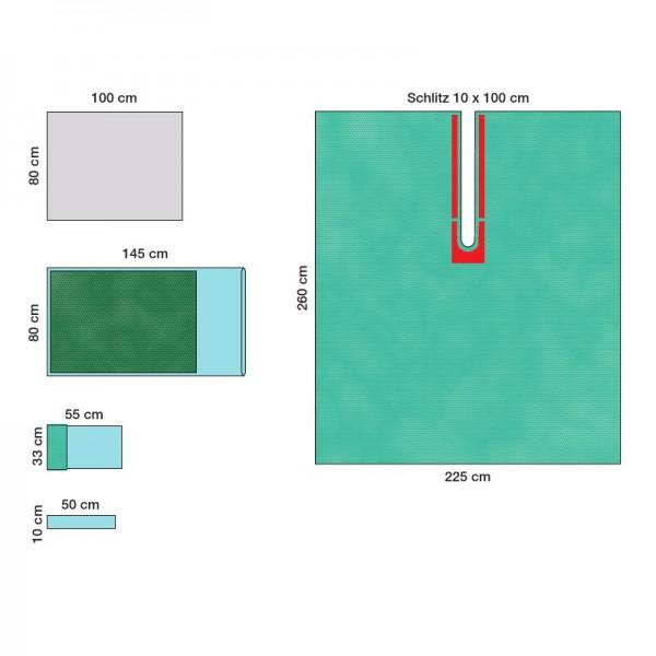Raucodrape ® PRO Schulterarthroskopie-Set I