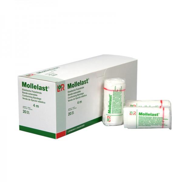 Elastische Fixierbinden L&R Mollelast einzeln unsteril
