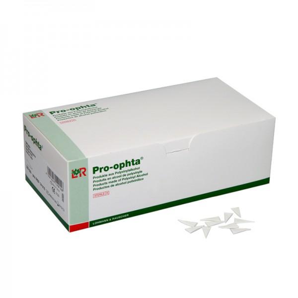 Ophthalmologische Tupfer L&R Pro-ophta Keiltupfer steril