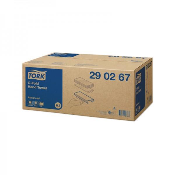 Handtuchpapier - Tork Advanced - 2-lagig - 25 x 41 cm - Hochweiß