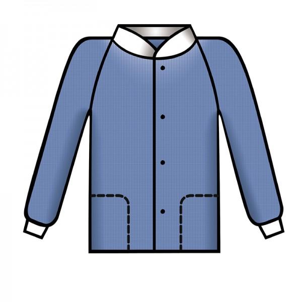 Bereichskleidung L&R Sentinex Thermojacke Soft Blau