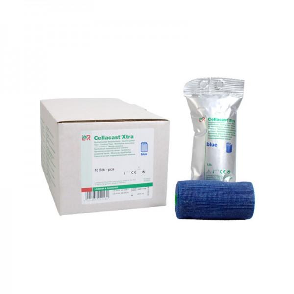 Cellacast - Xtra Binde - Blau - Stabilisierender Stützverband