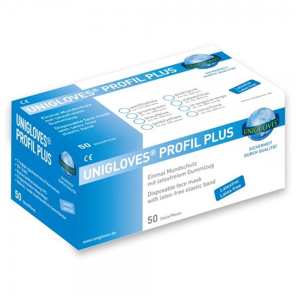 Mundschutz Unigloves Profil Plus mit Gummizug
