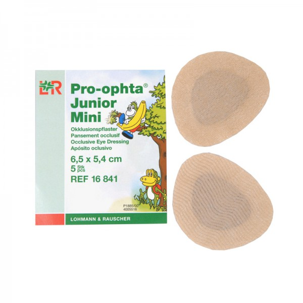 Pro-ophta ® Junior Mini, Okklusionspflaster