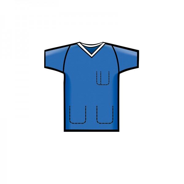 Bereichskleidung L&R Sentinex Kasack Soft Blau