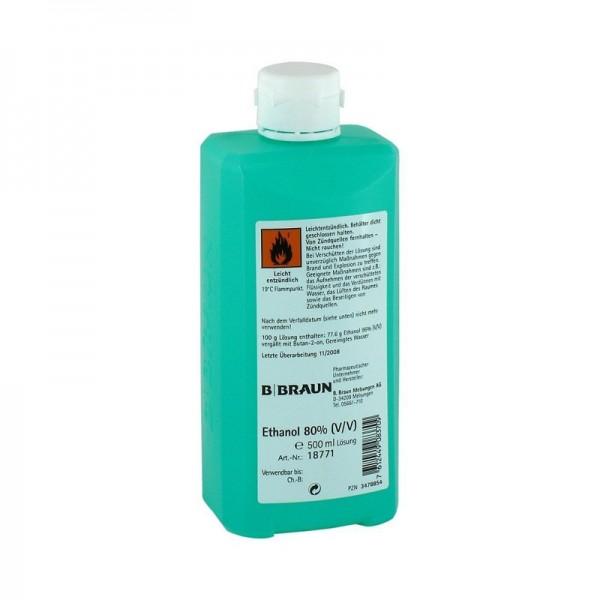 Händedesinfektion B. Braun Ethanol 80 %