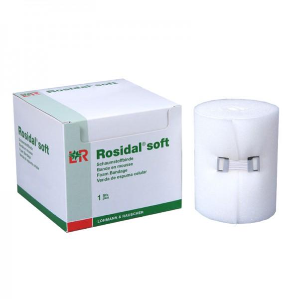 Schaumstoffbinde L&R Rosidal soft einzeln verpackt unsteril