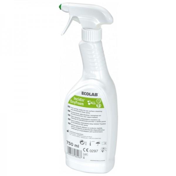 Schnelldesinfektion Ecolab Incidin OxyFoam