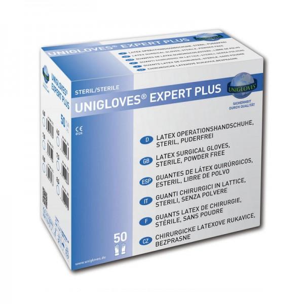 Handschuhe Steril Unigloves Expert Plus Latex
