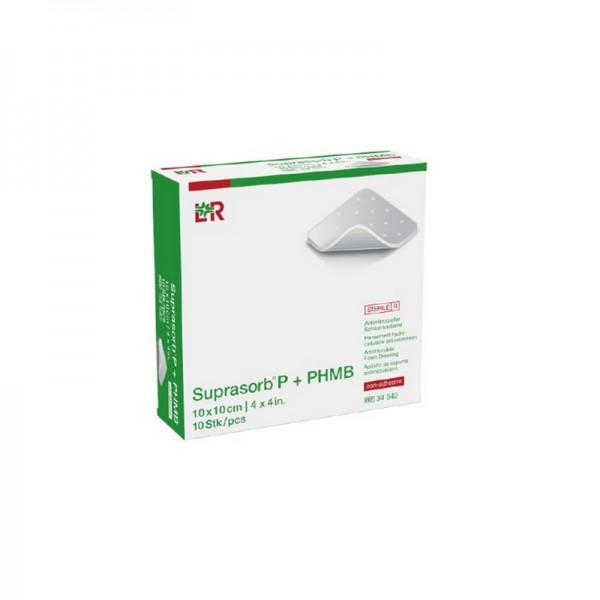 Suprasorb P+PHMB - Antimikrobieller Schaumverband - non-adhesive (nicht klebend)